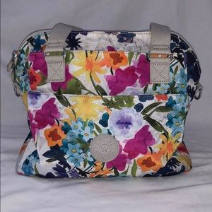 Floral Kipling Purse and Wallet Set